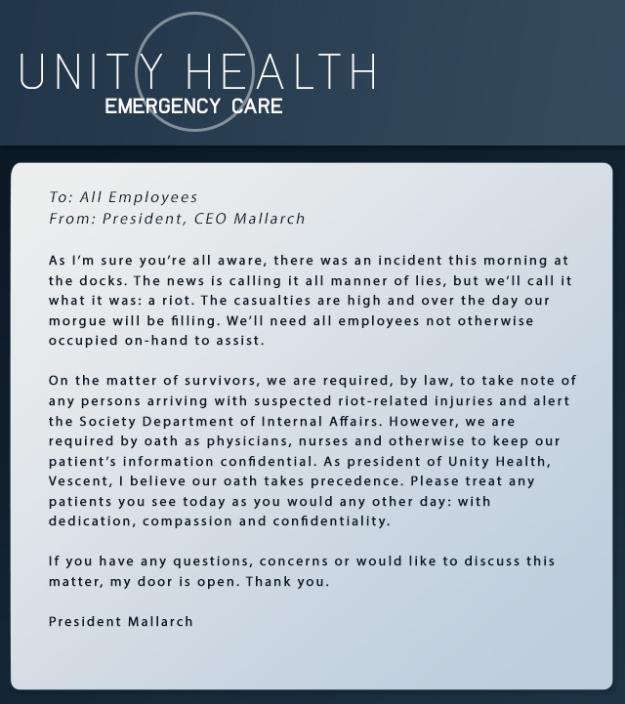 UnityMessage